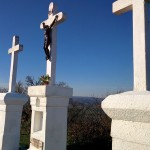 Crosses atop Kalvária hill