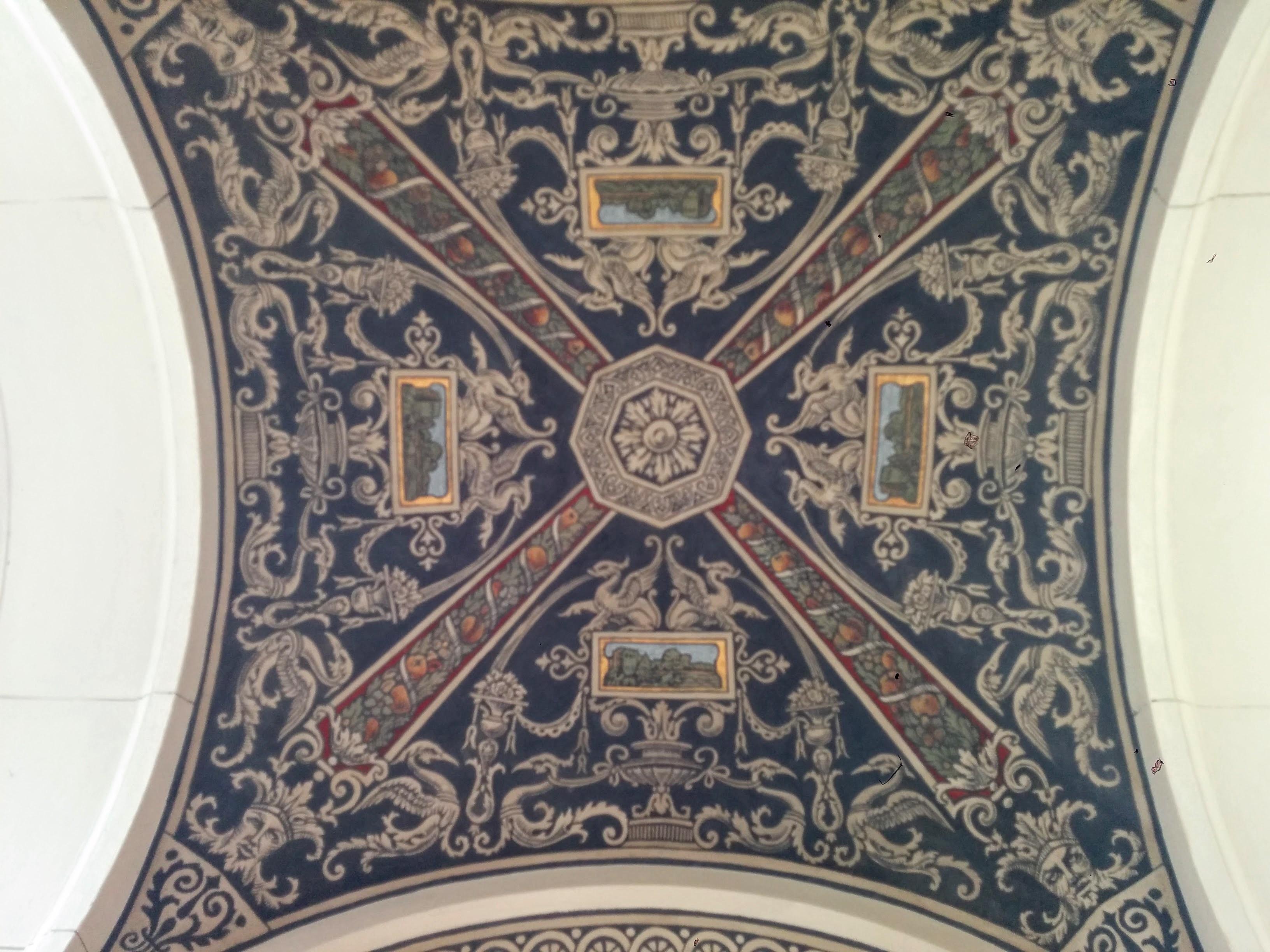 Várkert Bazár ceiling