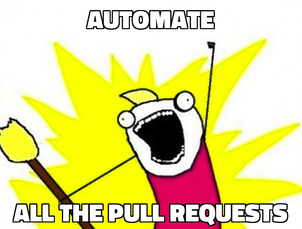 automate ALL THE PULL REQUESTS